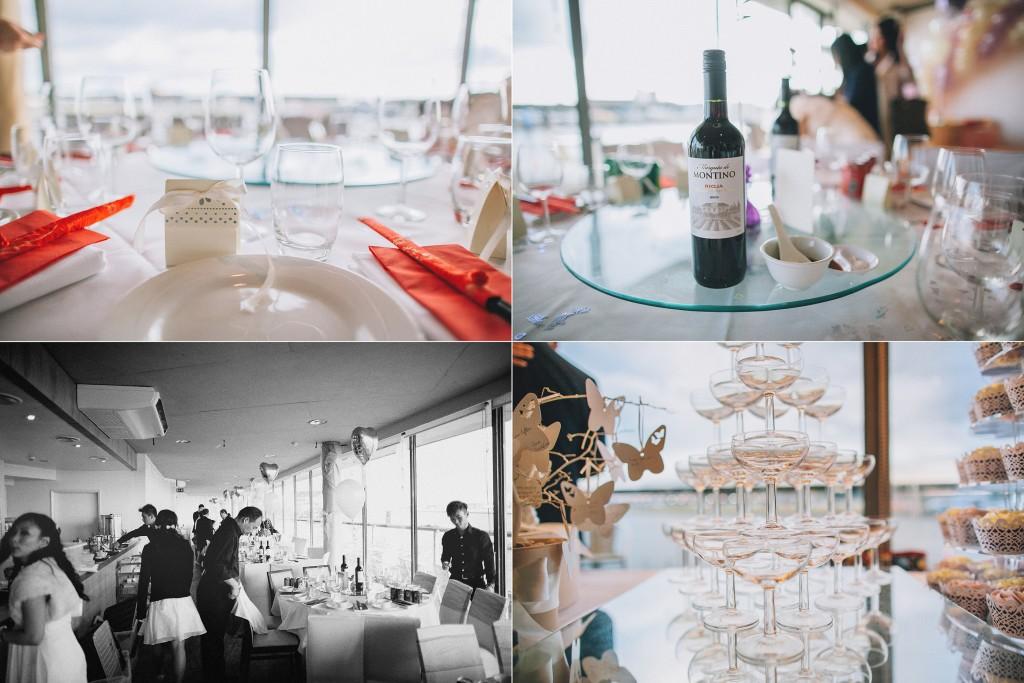 nicholas-lau-nicholau-weddings-london-film-photography-beautiful-pretty-blog-first-wedding-love-cute-white-dress-chinese-asian-catering-reception-dinner-wine-champagne-glasses-setting