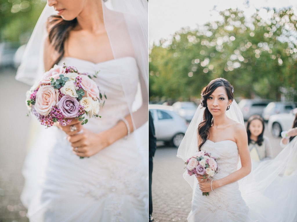 nicholas-lau-nicholau-weddings-london-film-photography-beautiful-pretty-blog-first-wedding-love-cute-white-dress-chinese-asian-purple-bouquet-roses-veil-long-arriving