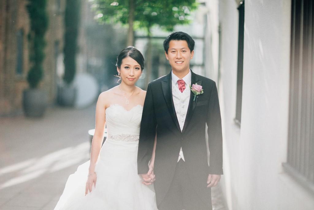 nicholas-lau-nicholau-weddings-london-world-global-film-photography-beautiful-pretty-blog-first-wedding-love-cute-white-dress-chinese-asian-portrait-bride-groom-outside-sunny-sunshine