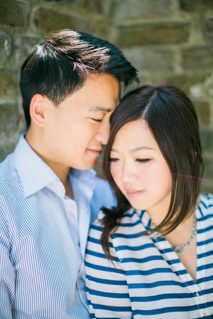 nicholas-lau-nicholau-weddings-beautiful-film-photography-love-london-engagement-couple-romance-amour-cute-sunny-sunlight-summer-chinese-asian-nuzzle-embrace-hug-hold-cherish