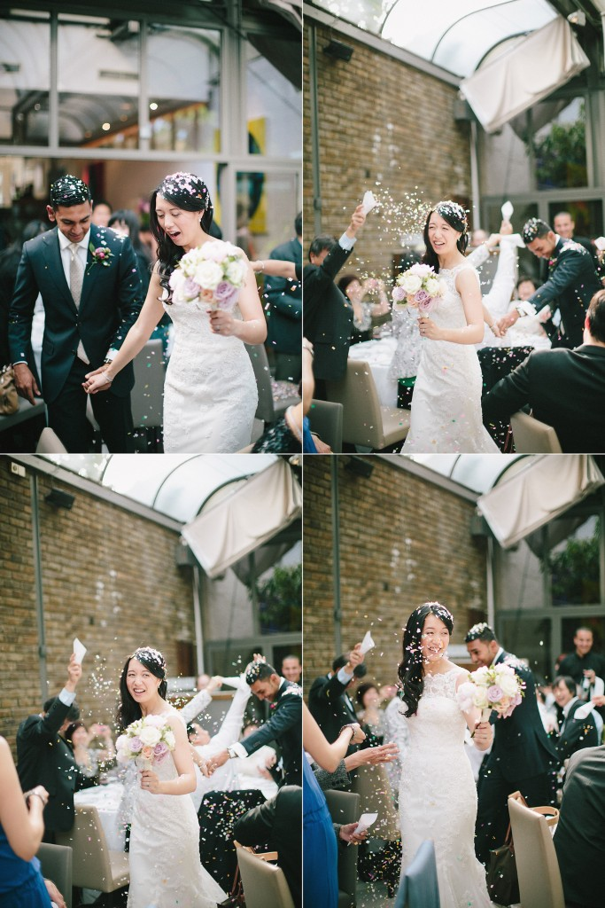 nicholas-lau-nicholau-weddings-london-film-photography-beautiful-pretty-blog-first-wedding-love-cute-white-dress-chinese-asian-indian-interracial-leaving-get-away-car-throwing-petals-rice