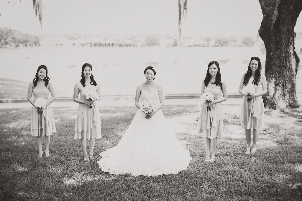 nicholas-lau-nicholau-weddings-london-film-photography-beautiful-pretty-blog-florida-wedding-love-cute-white-dress-chinese-korean-asian-bride-bridal-party-bridesmaids-black-and-white