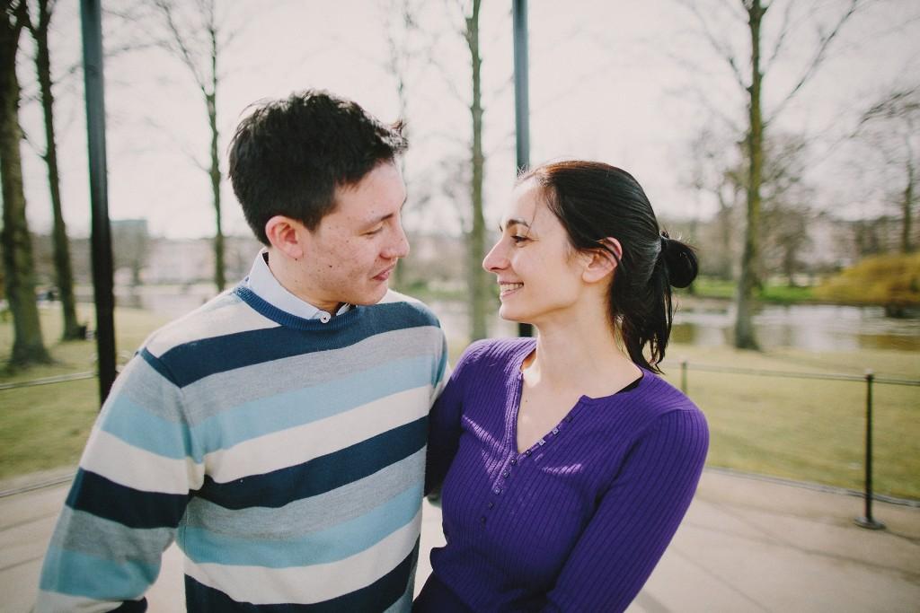 nicholas-lau-nicholau-family-portraits-london-film-photography-chinese-asian-interracial-white-moroccan-half-engagement-purple-cheongsam-regents-park-man-freckles-horizontal-blue-stripe-purple-sweater