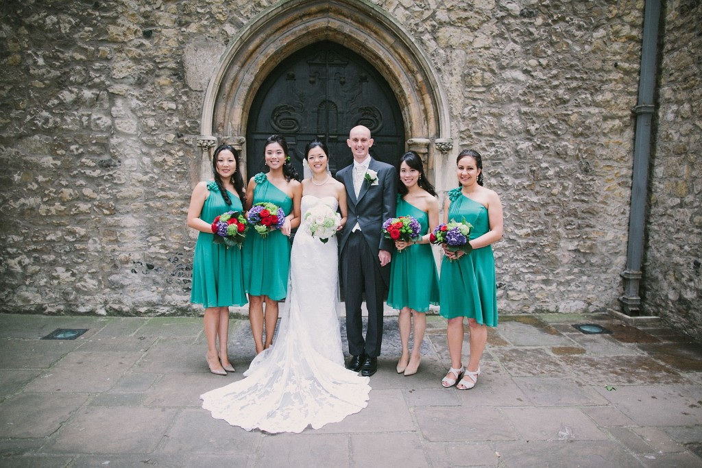 nicholau-nicholas-lau-interracial-wedding-bridesmaids-groom-white-bride-korean-teal-aqua-dresses