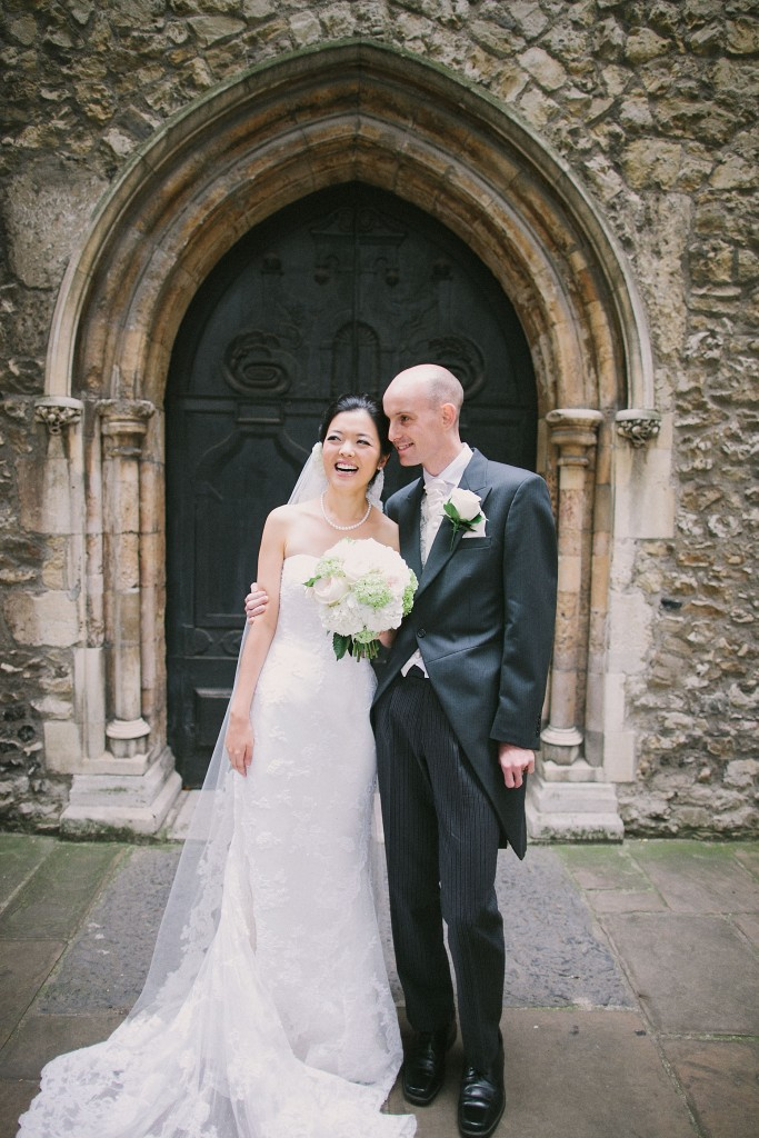 nicholau-nicholas-lau-interracial-wedding-church-door-white-korean-portrait-bride-groom-gothic-arch