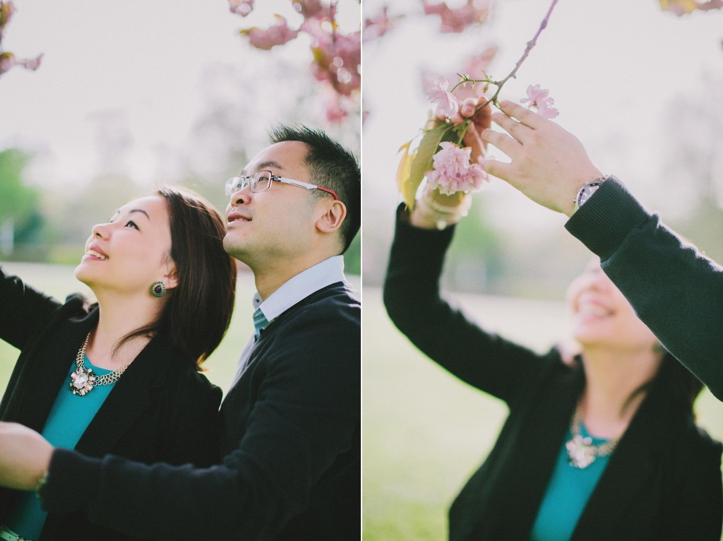 nicholas-lau-nicholau-engagement-spring-photography-peony-and-mockingbird-chinese-couple-battersea-park-westminster-something-blue-sakura-cherry-blossum-flowers
