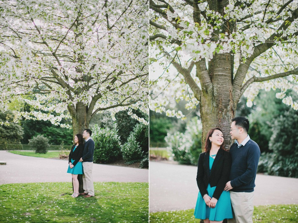 nicholas-lau-nicholau-engagement-spring-photography-peony-and-mockingbird-chinese-couple-battersea-park-westminster-something-blue-looking-off-together-fruits
