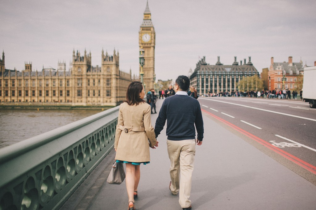 nicholas-lau-nicholau-engagement-spring-photography-peony-and-mockingbird-chinese-couple-battersea-park-westminster-something-blue-big-ben-trench-coat-hand-holding-discussing