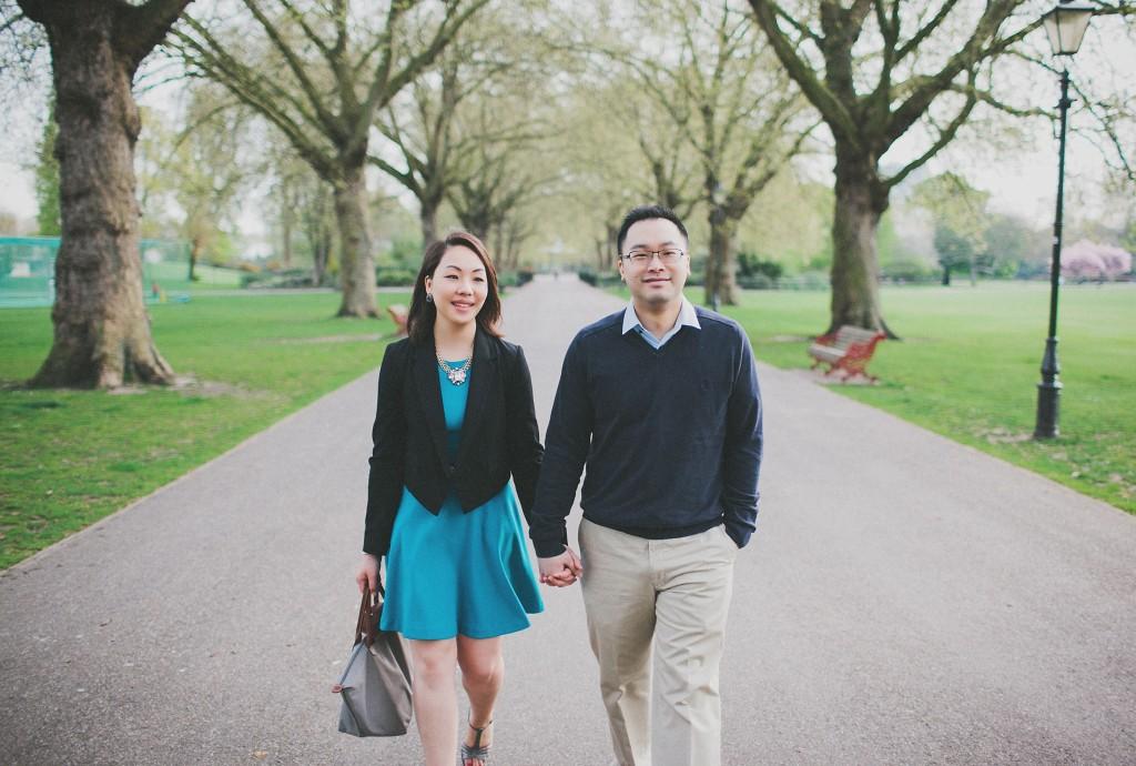 nicholas-lau-nicholau-engagement-spring-photography-peony-and-mockingbird-chinese-couple-battersea-park-westminster-something-blue-path-tree-lined-garden
