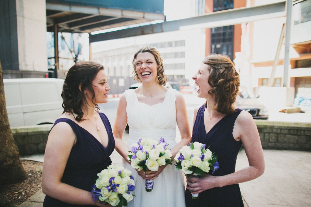 nicholas-lau-nicholau-london-weddings-fine-art-photography-leadenhall-market-st-helens-church-documentary-style-blue-bridesmaids-dress-navy-dresses-bouquets-laughter-bride-hens