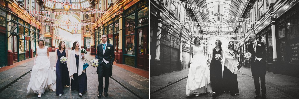 nicholas-lau-nicholau-london-weddings-fine-art-photography-leadenhall-market-st-helens-church-documentary-style-bridemaids-walking-down-center-aisle