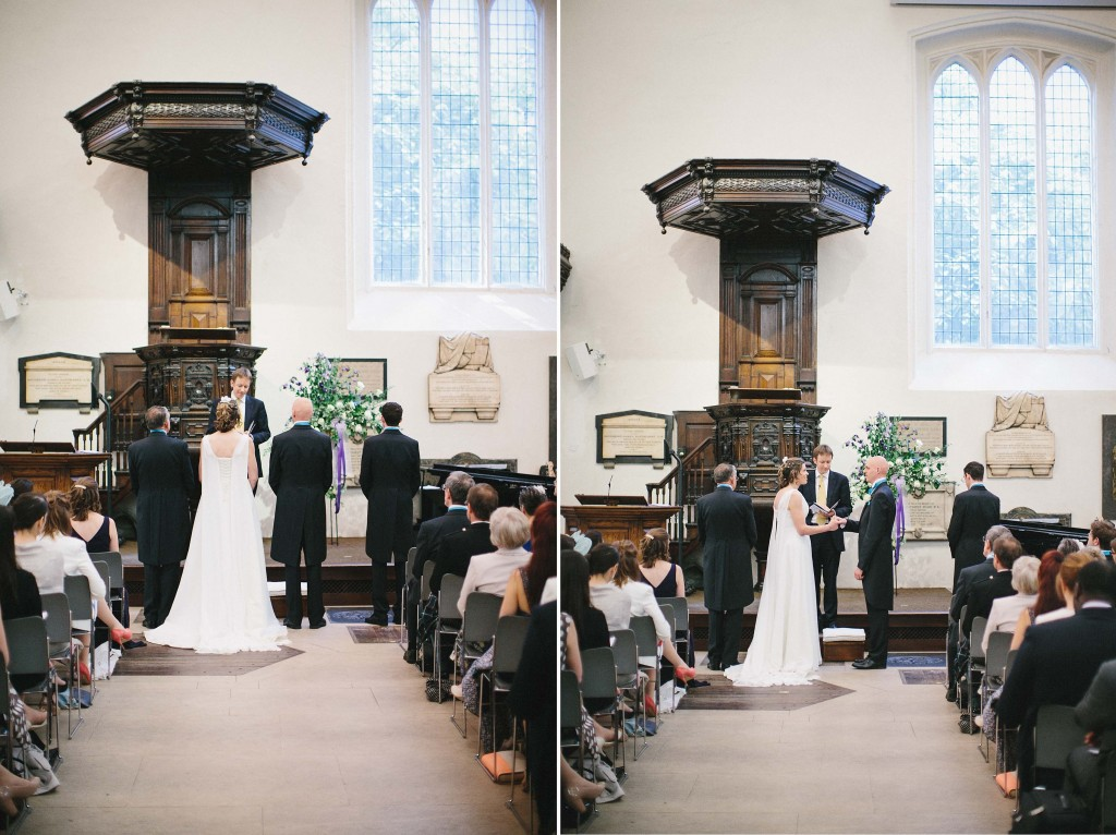 nicholas-lau-nicholau-london-weddings-fine-art-photography-leadenhall-market-st-helens-church-documentary-style-carved-dark-wood-alter-standing-at-vows