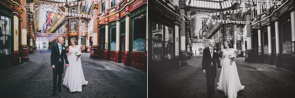 nicholas-lau-nicholau-london-weddings-fine-art-photography-leadenhall-market-st-helens-church-documentary-style-walking-hand-in-arm