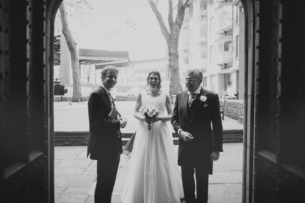 nicholas-lau-nicholau-london-weddings-fine-art-photography-leadenhall-market-st-helens-church-documentary-style-white-dress-black-walk-her-down-the-aisle-dad
