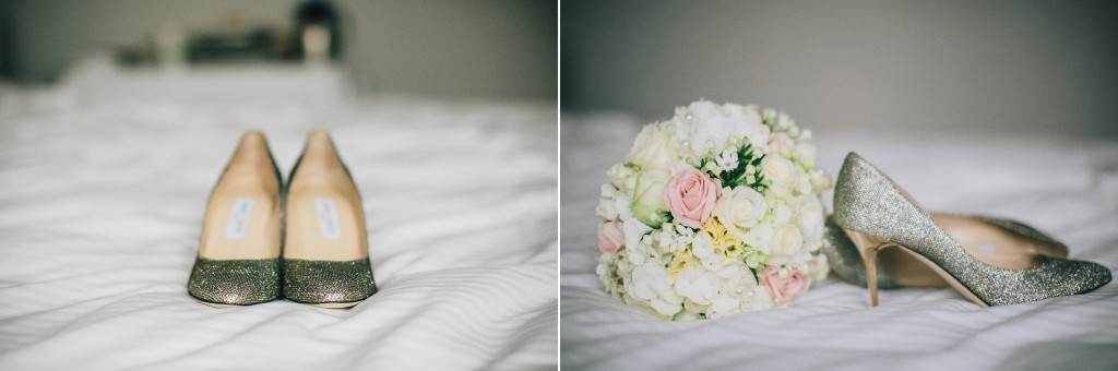 Nicholau-nicholas-lau-photography-london-uk-wedding-fine-art-film-nigerian-black-african-traditional-bouquet-heels-metallic-silver-gunmetal-roses-white-bed