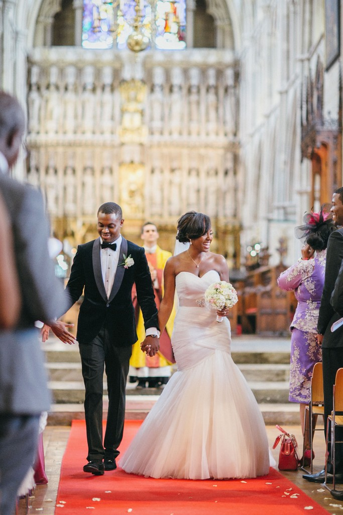 Nicholau-nicholas-lau-photography-london-uk-wedding-fine-art-film-nigerian-black-african-traditional-bride-groom-just-married-red-carpet-walk-down-aisle