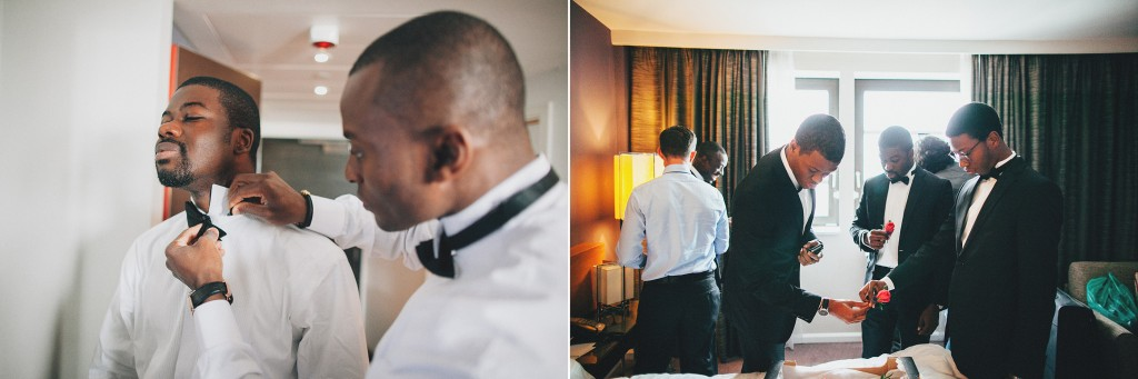 Nicholau-nicholas-lau-photography-london-uk-wedding-fine-art-film-nigerian-black-african-traditional-tux-tuxedo-bow-tie-getting-ready-groomsmen