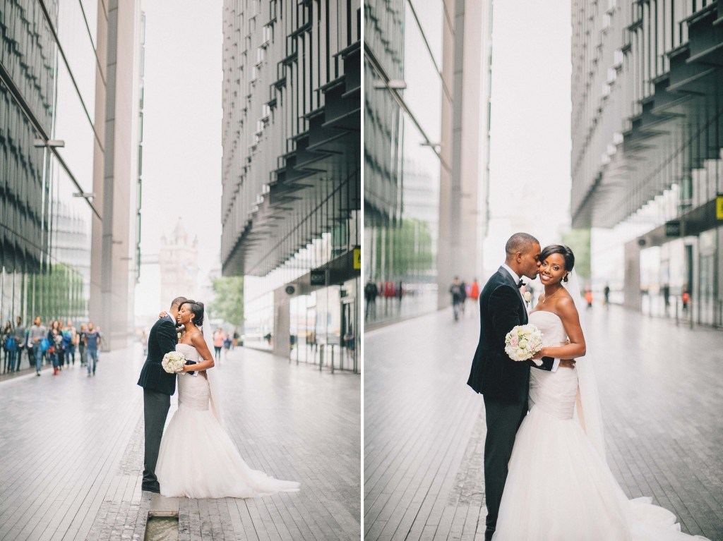 Nicholau-nicholas-lau-photography-london-uk-wedding-fine-art-film-nigerian-black-african-traditional-white-roses-bouquet-tuxedo-groom-bride-velvet-jacket-white-roses