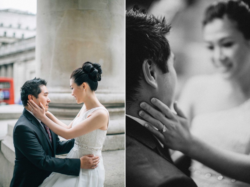 nicholas-lau-nicholau-chinese-london-uk-film-fine-art-photography-engagement-couple-pre-wedding-portra-160-400-800-fuji-contax-645-bank-side-love-sit-on-this-wall-caress-cheek-look-on-the-face