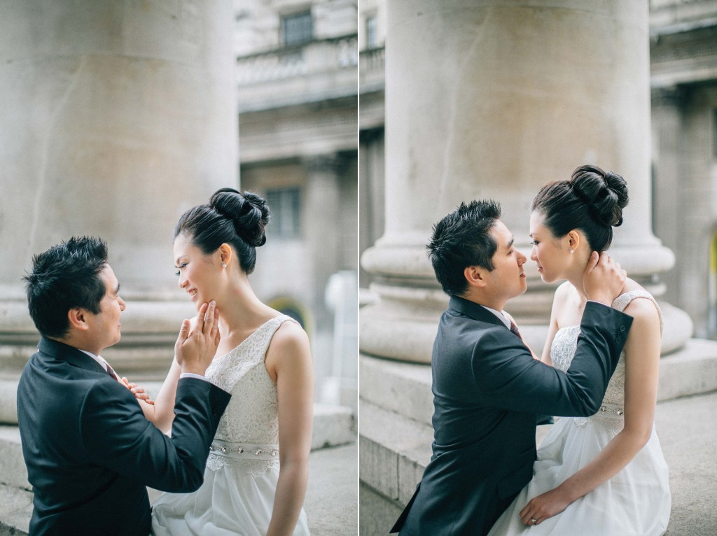 nicholas-lau-nicholau-chinese-london-uk-film-fine-art-photography-engagement-couple-pre-wedding-portra-160-400-800-fuji-contax-645-bank-side-love-so-cute-hold-face-to-kiss-it