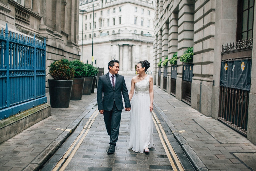 nicholas-lau-nicholau-chinese-london-uk-film-fine-art-photography-engagement-couple-pre-wedding-portra-160-400-800-fuji-contax-645-bank-side-love-walking-hand-in-hand-suit-white-gown-dress