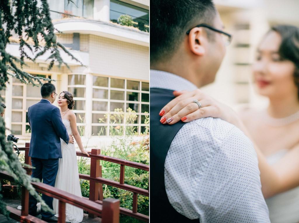 nicholau-nicholas-lau-wedding-fine-art-photography-london-chinese-asian-bird-cage-veil-japanese-bridge-accent-nail-ring-finger-groom-blue-suit-kensington-roof-gardens