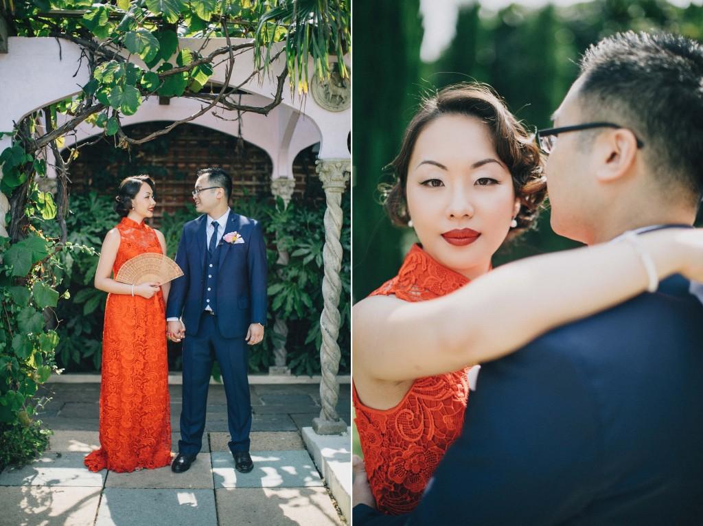 nicholau-nicholas-lau-wedding-fine-art-photography-london-chinese-asian-kensington-roof-gardens-phoenix-place-red-dress-tea-blue-suit-bride-groom-lace