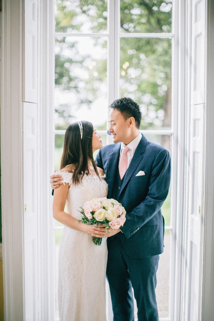 nicholas-lau-nicholau-wedding-marriage-fine-art-film-photography-blue-suit-chinese-love-dress-white-autumn-fall-leaves-bride-groom-bouquet-window-look-at-us-c