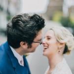 nicholas-lau-nicholau-wedding-photography-photographer-fine-art-film-winter-christmas-london-UK-modern-unique-the-arch-asia-house-bride-groom-doorway-about-to-kiss-close-up