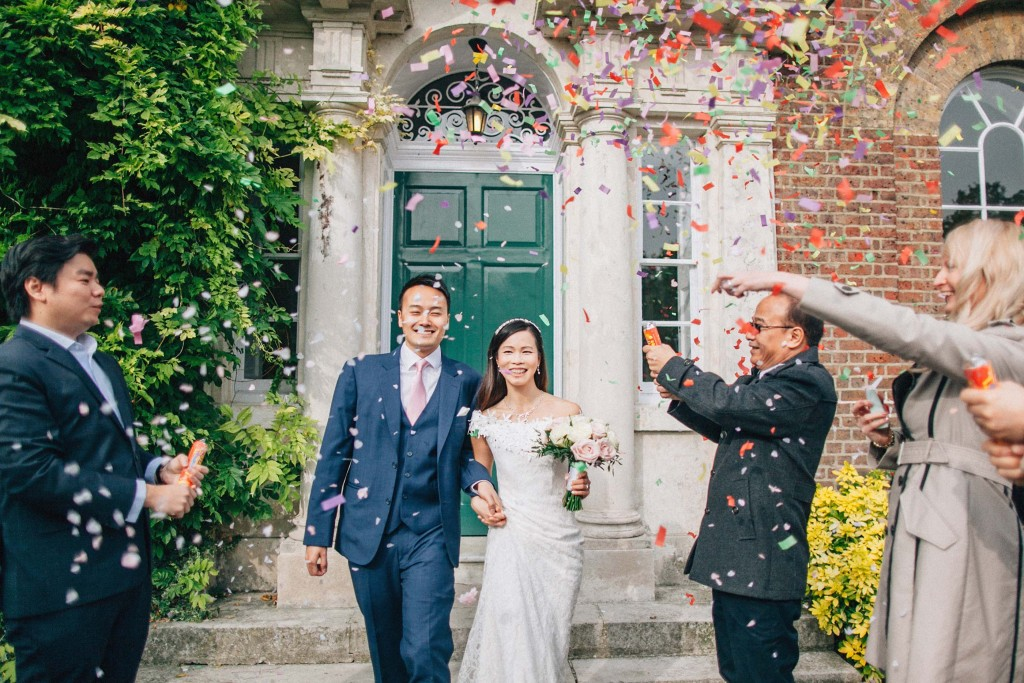 nicholas-lau-nicholau-wedding-marriage-fine-art-film-photography-blue-suit-chinese-love-dress-white-autumn-fall-leaves-confetti-just-married-b