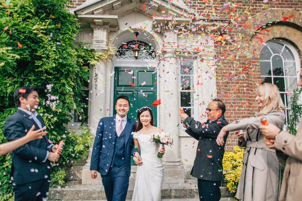 nicholas-lau-nicholau-wedding-marriage-fine-art-film-photography-blue-suit-chinese-love-dress-white-autumn-fall-leaves-confetti-just-married-mordon