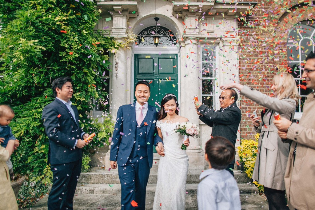 nicholas-lau-nicholau-wedding-marriage-fine-art-film-photography-blue-suit-chinese-love-dress-white-autumn-fall-leaves-confetti-just-married-mordon-b