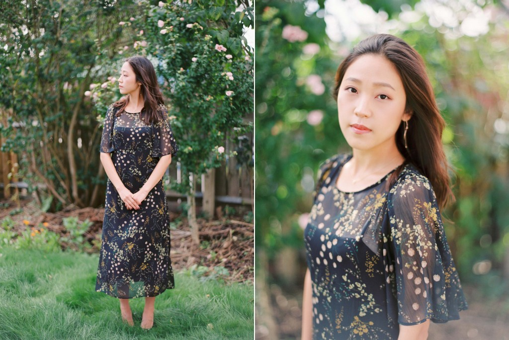Nicholas-lau-nicholau-film-fine-art-photography-portraits-korean-asian-tea-pot-fuji-400-contax-645-pretty-beautiful-black-dress-garden-polite-stand-tall