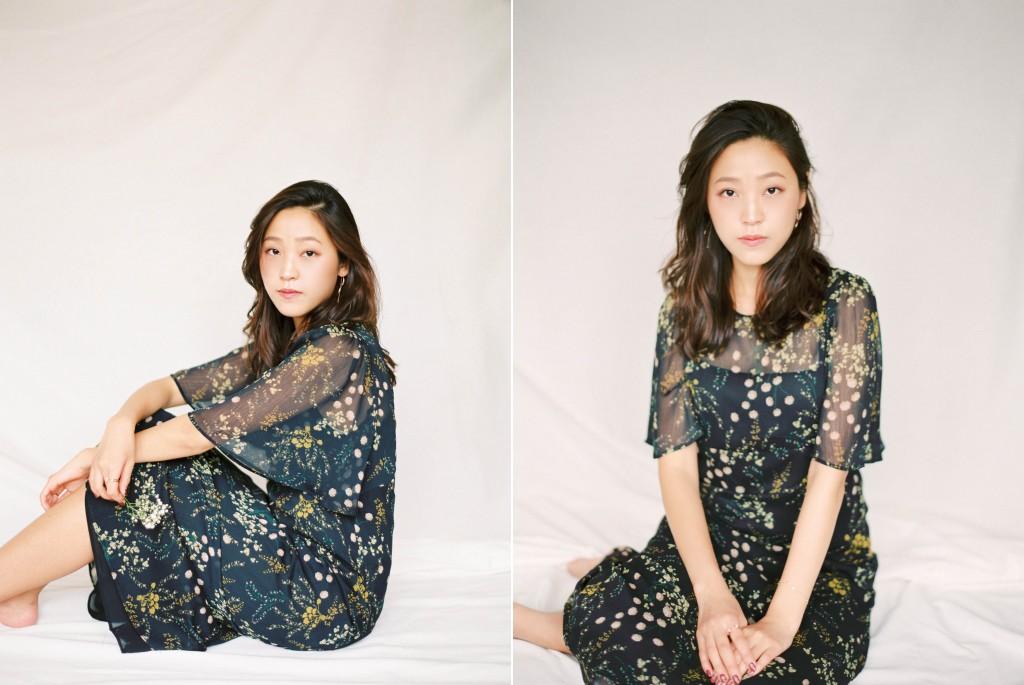 Nicholas-lau-nicholau-film-fine-art-photography-portraits-korean-asian-tea-pot-fuji-400-contax-645-pretty-beautiful-sitting-black-dress