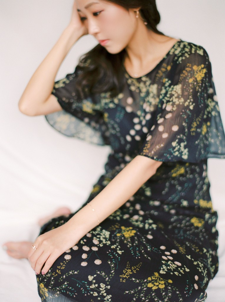 Nicholas-lau-nicholau-film-fine-art-photography-portraits-korean-asian-tea-pot-fuji-400-contax-645-pretty-beautiful-sitting-looking-hair-dress-waiting
