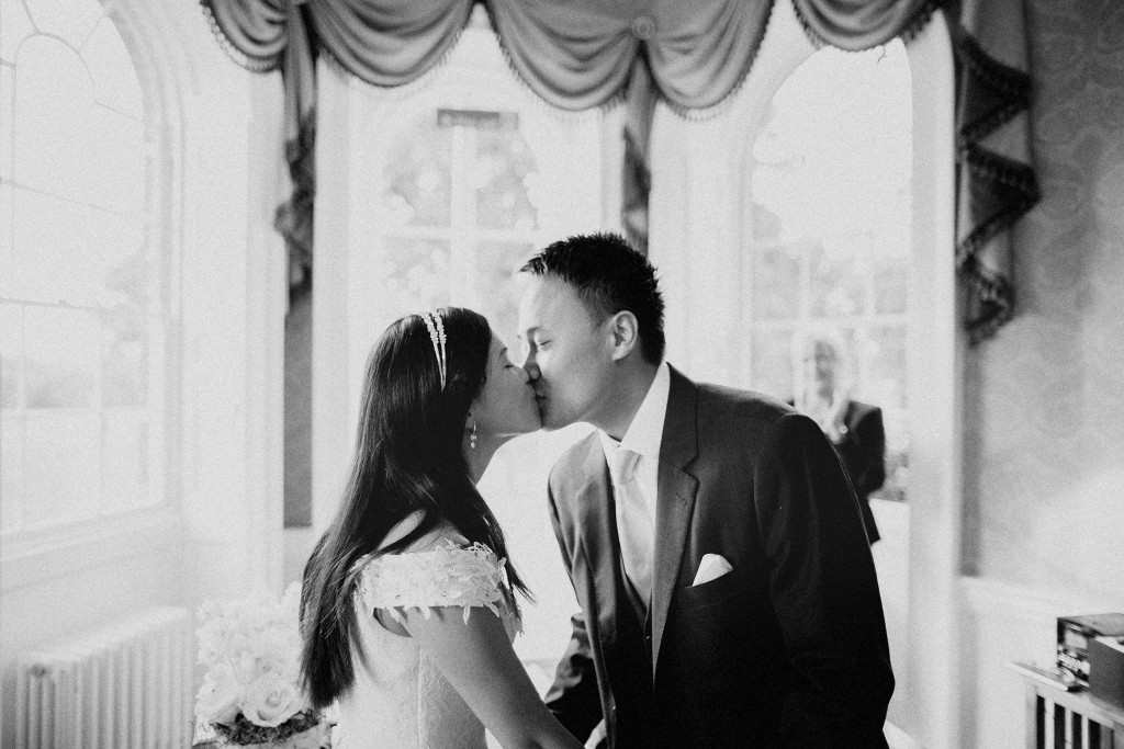 nicholas-lau-nicholau-wedding-marriage-fine-art-film-photography-blue-suit-chinese-love-dress-white-autumn-fall-leaves-black-white-may-now-kiss-the-bride