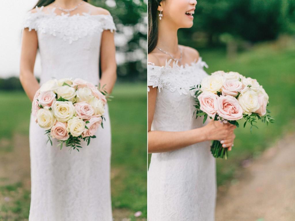 nicholas-lau-nicholau-wedding-marriage-fine-art-film-photography-blue-suit-chinese-love-dress-white-autumn-fall-leaves-rose-bouquet-bride-lace-details