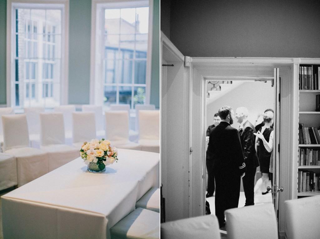 nicholas-lau-nicholau-wedding-photography-photographer-fine-art-film-winter-christmas-london-UK-modern-unique-ceremony-the-arch-asia-house-guests-enter
