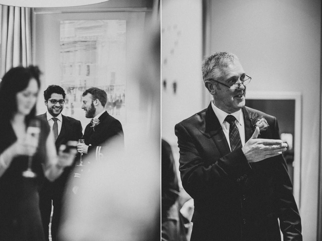 nicholas-lau-nicholau-wedding-photography-photographer-fine-art-film-winter-christmas-london-UK-modern-unique-the-arch-asia-house-black-white-guests-ceremony