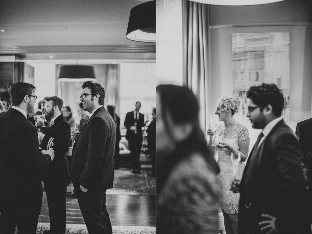 nicholas-lau-nicholau-wedding-photography-photographer-fine-art-film-winter-christmas-london-UK-modern-unique-the-arch-asia-house-black-white-reception-guests