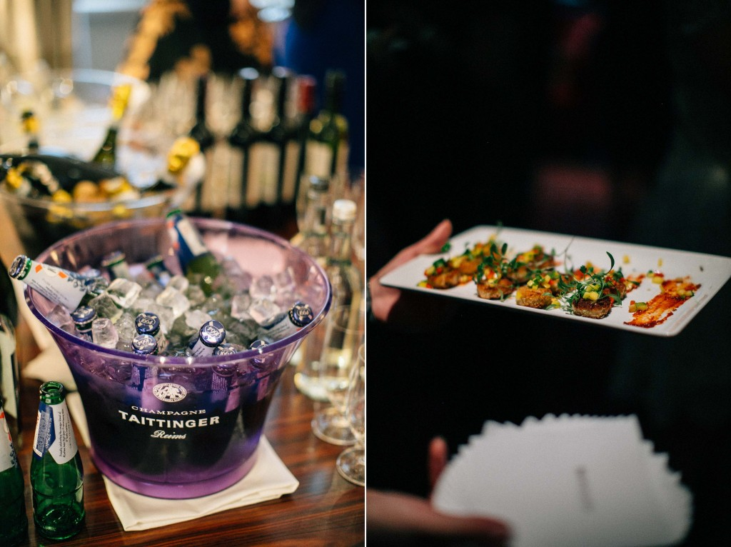 nicholas-lau-nicholau-wedding-photography-photographer-fine-art-film-winter-christmas-london-UK-modern-unique-the-arch-asia-house-ice-bucket-champange-appetizers