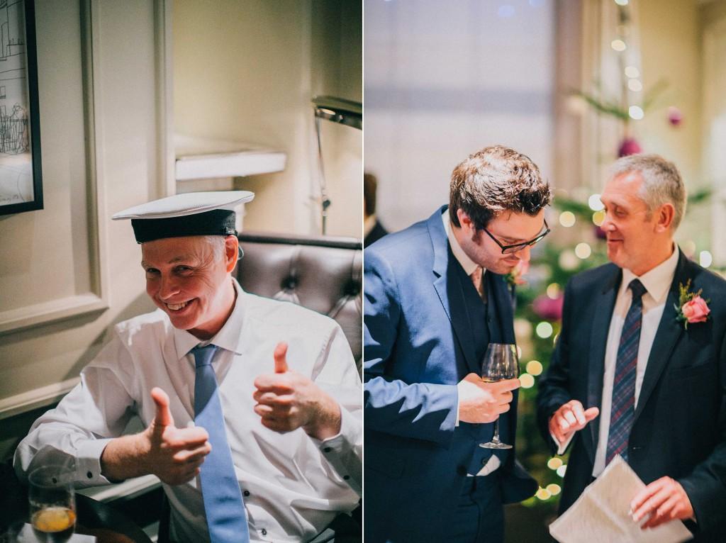 nicholas-lau-nicholau-wedding-photography-photographer-fine-art-film-winter-christmas-london-UK-modern-unique-the-arch-asia-house-reception-sailor-hat-hats