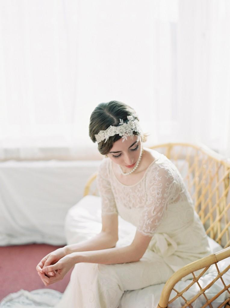 Nicholas-lau-photo-photography-nicholau-film-fine-art-fuji-400h-400-contax-645-ukfilm-lab-monsoon-wedding-dress-shoot-bridal-head-hair-accessories-pearls-the-pearl-earring-gown-looking-back