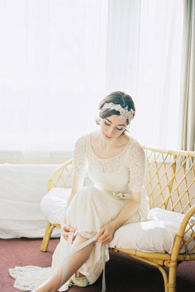 Nicholas-lau-photo-photography-nicholau-film-fine-art-fuji-400h-400-contax-645-ukfilm-lab-monsoon-wedding-dress-shoot-bridal-head-hair-accessories-pearls-the-pearl-earring-lacing-ballet-flat-ankle