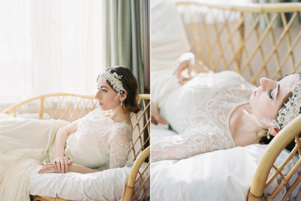 Nicholas-lau-photo-photography-nicholau-film-fine-art-fuji-400h-400-contax-645-ukfilm-lab-monsoon-wedding-dress-shoot-bridal-hair-accessories-the-pearl-earring-chaise-regal-elegant-girl