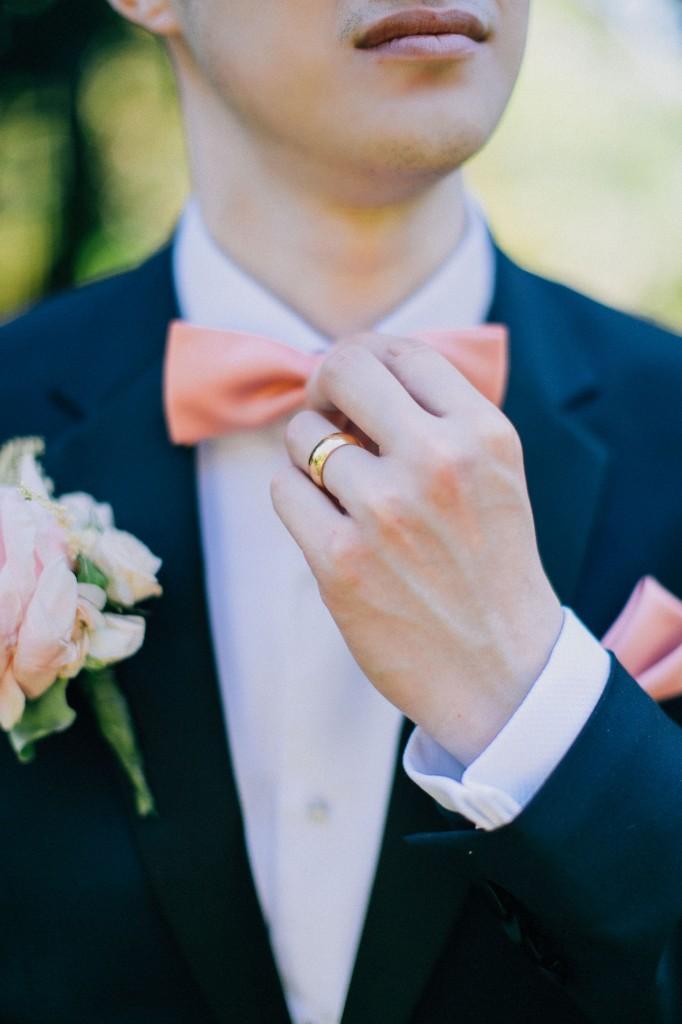nicholas-lau-photo-photography-wedding-uk-london-holland-park-gardens-orangery-the-chinese-couple-summer-beautiful-photographer-gold-wedding-band-groom-style-bow-tie-cuff-links