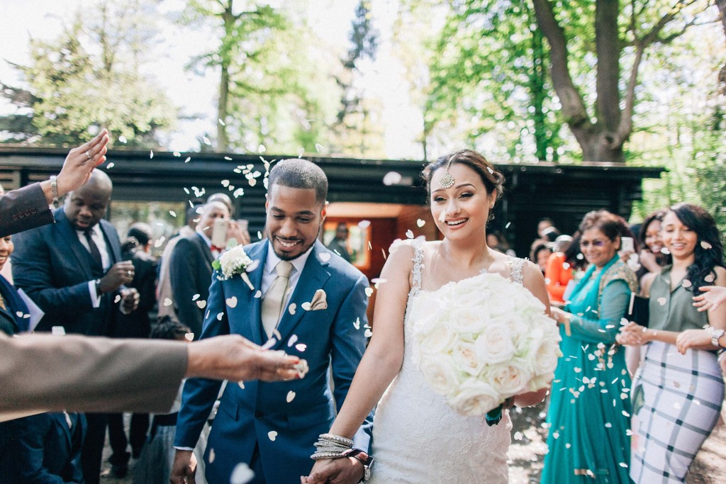 nicholas-lau-wedding-photo-photography-london-uk-ethnic-indian-black-multicultural-beautiful-summer-spring-cherry-blossoms-elegant-gilwell-park-confetti-fun