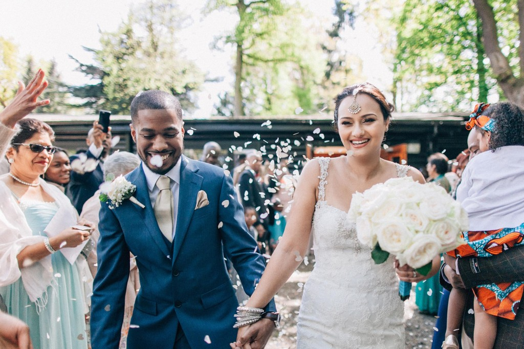 nicholas-lau-wedding-photo-photography-london-uk-ethnic-indian-black-multicultural-beautiful-summer-spring-cherry-blossoms-elegant-gilwell-park-confetti-smiles
