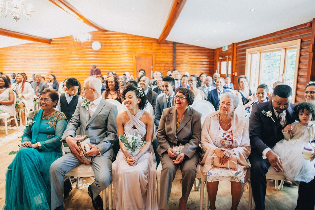 nicholas-lau-wedding-photo-photography-london-uk-ethnic-indian-black-multicultural-beautiful-summer-spring-cherry-blossoms-elegant-gilwell-park-guests-watch-cermony