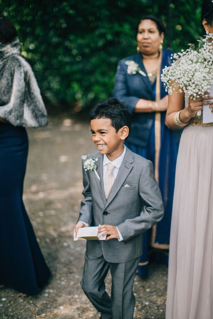 nicholas-lau-wedding-photo-photography-london-uk-ethnic-indian-black-multicultural-beautiful-summer-spring-cherry-blossoms-elegant-gilwell-park-outdoor-unique-happy-ring-bearer